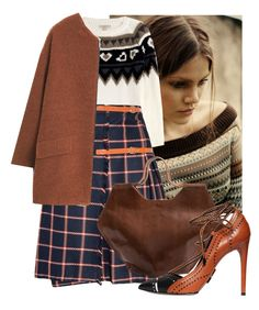 """""""Untitled #929"""" by kthrin on Polyvore featuring Burberry, Daniele Michetti and MANGO"""