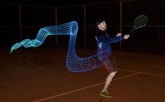Movements Captured in Light Painting – Fubiz Media
