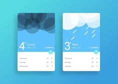 Weather app UI design inspiration. Learn to design with our course get 70% off with the link in our bio.