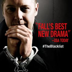 """Repin this if you are a fan of NBC's """"The Blacklist.""""   An all new episode airs tonight at 10 following """"The Voice."""""""