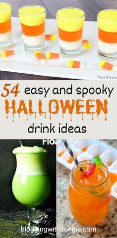 Halloween Cocktails, Adult Halloween Drinks, Childrens Halloween Party, Halloween Movie Night, Cheap Halloween, Halloween Food For Party, Halloween Treats, Spooky Halloween, Women Halloween