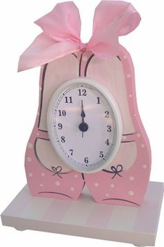 Ballerina table clock and decor at Jack and Jill Boutique