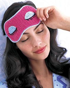 personalized eye mask for when you need to sleep on those long flights!