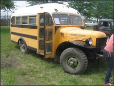 Power Wagon School Bus