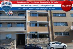 VENDA – Apartamento T2 Moderno à Escola Secundária da Maia Apartamento com boas áreas e em bom estado de conservação. Tem box fechada para dois carros e varanda. Com 2 frentes: Norte/Sul. Tem…