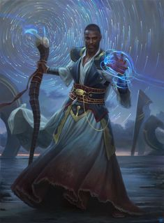 ArtStation - Teferi, Timebender - Magic: The Gathering, Zack Stella