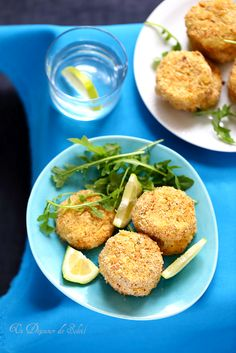Croquettes de pommes de terre et saumon