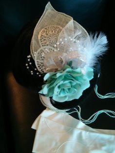 Grand Opera Headpiece & Glove Set by AshTreeMeadowDesigns on Etsy