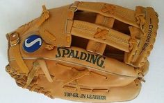 Spalding Baseball Glove Competition Series 42-051 Canyon Deep Formed Pocket RHT