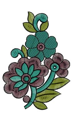Patch Embroidery Design 13280