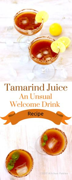 This is a Recipe for Tamarind Juice . This sweet and sour drink is a great option to serve as a welcome drink. Also, aids digestion. Weight Loss Smoothies, Healthy Smoothies, Healthy Drinks, Smoothie Recipes, Drink Recipes, Tamarind Recipes, Fruit And Vegetable Juicer, Sour Drink, Tamarind Juice