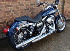 Harley Davidson Super Glide Custom.