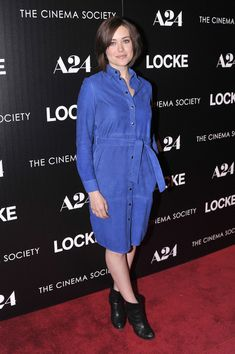 Megan Boone Photos: 'Locke' Premieres in NYC