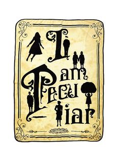 Miss Peregrine's Home For Peculiar Children Silhouette Throw,