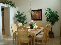 Dining Room #disney #rental #vacation http://www.homeaway.com/vacation-rental/p236453