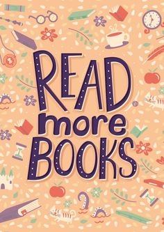 'Read more books' Poster by Risa Rodil Reading Quotes, Book Quotes, I Love Books, Books To Read, Children's Books, Free Books, Library Quotes, Book Posters, I Love Reading