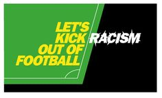 Respect. Let's kick out racism!