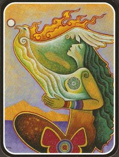 Rooted in Reverence, Seated in Spirit   Dreamspeak: Be Your Own Expert  (Painting by Mara Friedman)