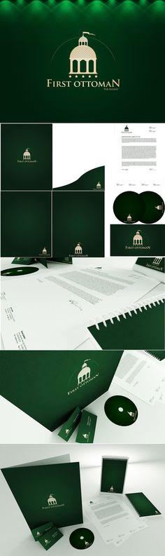 Ottoman Hotels Logo And Corporate İdentitiy