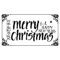 PENNY BLACK RUBBER STAMP we wish you a a merry - Google Search