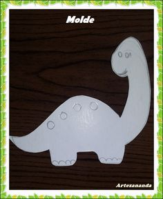 Felt Crafts, Diy And Crafts, Application Pattern, Dinosaur Party, Girl Shower, Sewing Projects, Letters, Templates, Toys