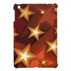 Earthtone Stars - iPad Mini Case
