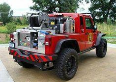 Jeep Truck Grass rig