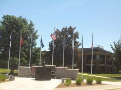 PT 75 JUNE 2014 THE FLAGS AT THE OLD SOLDIRES HOME IN BOISE IDAHO.