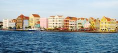 The historic city of Willemstad, Curacao, is home to the oldest surviving synagogue in the Americas, providing the city with amazing architecture besides the beautiful colored houses.