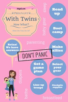 You're pregnant with twins or more. Now what? How Do You Do It? is a blog by and for mothers of multiples. Don't panic!