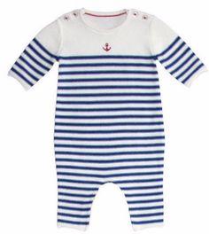 1217e3f2c Petit Bateau Baby Boy Olive Cream Snowflakes Sweater