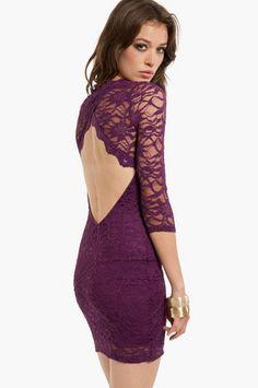 Oh My Darla Lace Dress $54 at www.tobi.com