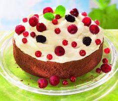Fruchtige Beeren-Mascarpone-Torte Rezept | Dr. Oetker