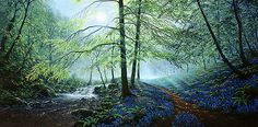 Maurice Bishop - Bluebell Path