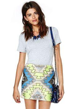 Aztlan Skirt