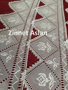 Needle Lace, Filet Crochet, Needlework, Cute Outfits, Quilts, Blanket, Holiday Decor, Embroidery, Pretty Outfits