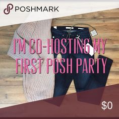 💁🏼GET READY TO PARTY💁🏼 YAY!!!! I'm so excited and honored to be Co-Hosting my 1ST POSH PARTY on January 21ST🎉 Party Theme to be announced. Happy to have already met @shoppermaj & @califoxx and can't wait to meet my other Co-Hosts! Please SHARE SHARE SHARE...like this post, leave me a comment and tag POSH friends for possible HOST PICKS!!!! Other