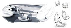 Lexus LF-LS by Brian Geiszler, via Behance