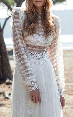 Costarellos Bridal Look 20 on Moda Operandi