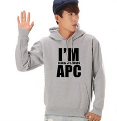 Eu sou League of Legends APC hoodie para homens jogo LOL camisola