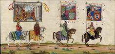 Albrecht Altdorfer (c. 1480 -1538), Hans Burgkmair (1473-1531), Albrecht Dürer (1471-1528) & others — Triumphal Procession, 1517 (1440x689)