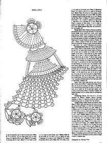 laboresdeesther Ganchillo y crochet: Muñeca a crochet