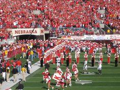 Nebraska Husker football game