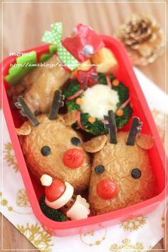 Christmas Reindeer bento
