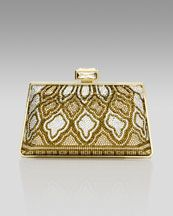 udith Leiber New Mini Trapezoid Clutch