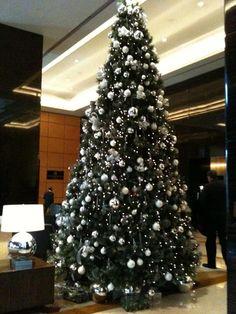 Christmas tree @Fairmont Hotels & Resorts Nile City, Cairo, Egypt