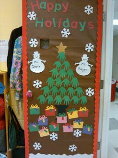 Christmas Preschool door idea