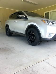 new rims (aggressive set) - Page 2 - Toyota RAV4 Forums