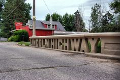 5. Lincoln Highway Heritage Byway near Tama
