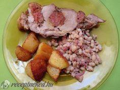 Rakott, sült tarja Pork, Chicken, Kale Stir Fry, Pork Chops, Cubs